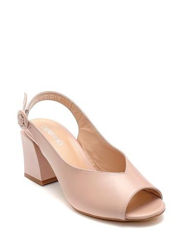 Derimod Kadın Sandalet (29651) Klasik Pudra
